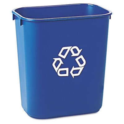 Rubbermaid Commercial Products Small Deskside Recycling Container