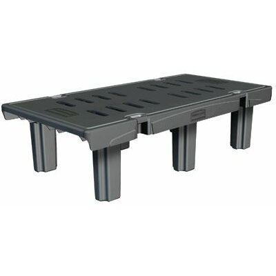 Rubbermaid Commercial Products Rubbermaid Commercial - Vented Top Dunnage Racks Dunnage Rack 24X36: 640-4489-Bla - dunnage rack 24x36