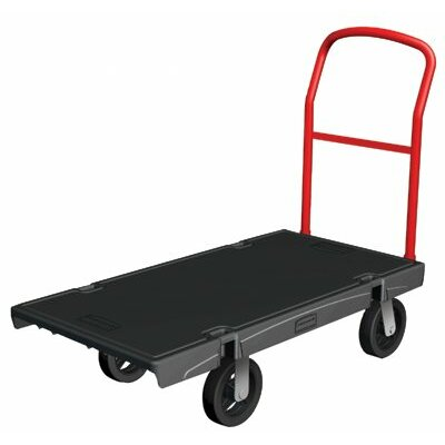 Rubbermaid Commercial Products Platform Trucks - 24x48 trk 8cstr