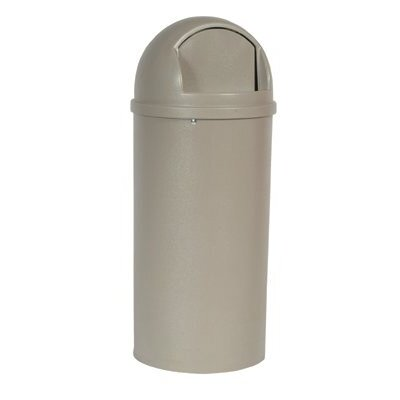 Rubbermaid Commercial Products Marshal® Classic Containers - marshal container 15galwith tuffmade po