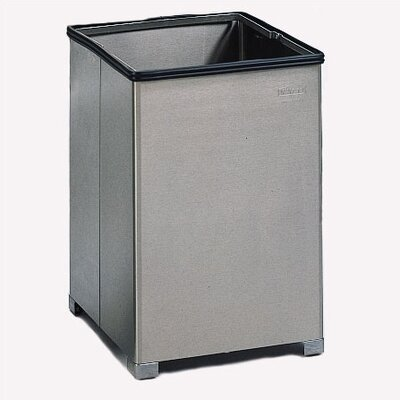 Rubbermaid Commercial Products Small Open Top Stainless Steel Receptacle