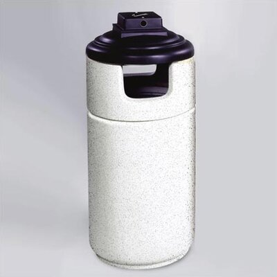 Rubbermaid Commercial Products Cornerstone 40 Gallon Covered Top Receptacle