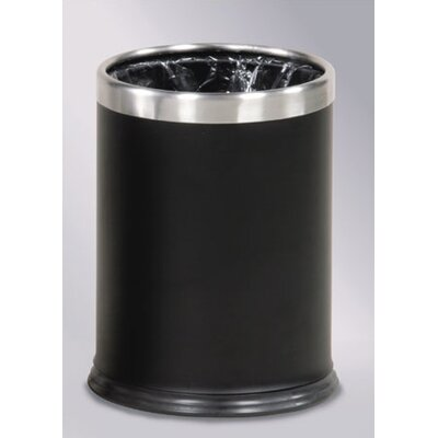 Rubbermaid Commercial Products Hide-A-Bag 3.5-Gal. Wastebasket