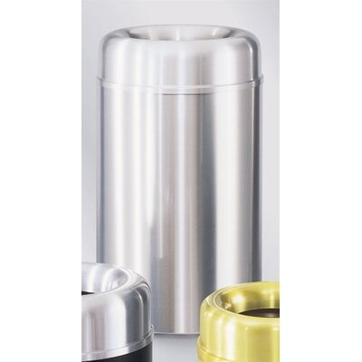 Rubbermaid Commercial Products Crowne 35 Gal. Open Top Receptacle