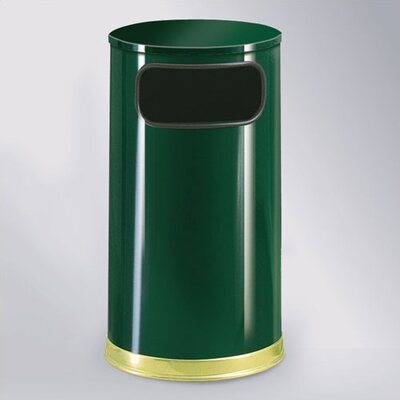 Rubbermaid Commercial Products European Designer 12 Gal. Waste Receptacle