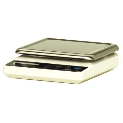 Rubbermaid Commercial Products Pelouze Compact Digital Portion-Control Scale