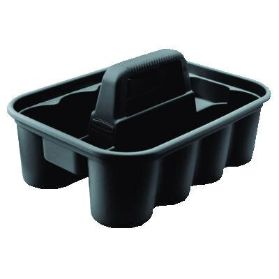 Rubbermaid Commercial Products Deluxe Carry Caddy in Black