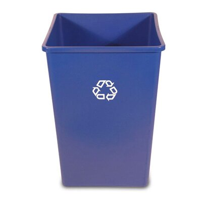 Rubbermaid Commercial Products Recycling Container in Blue