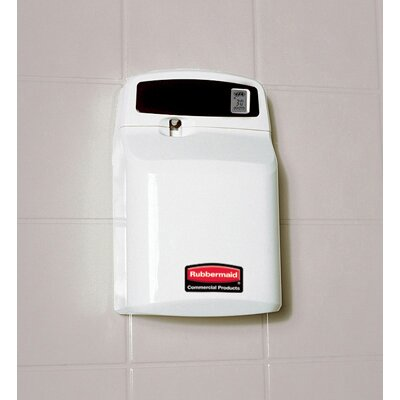 Rubbermaid Commercial Products Sebreeze Programmable Plus Aerosol Odor Neutralizer Dispenser in White