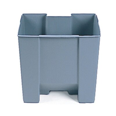 Rubbermaid Commercial Products 15-Gallon Step-On Rigid Liner in Gray