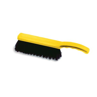 Rubbermaid Commercial Products Tampico-Fill Countertop Brush with Yellow Handle