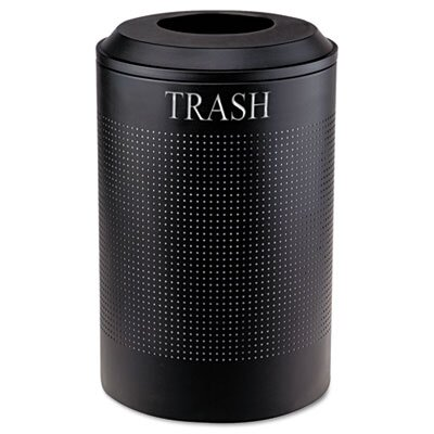 Rubbermaid Commercial Products Silhouette Waste Round Receptacle
