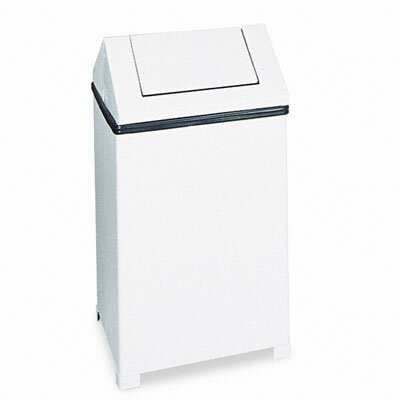 Rubbermaid Commercial Products Fire-Safe Swing Top Square Receptacle