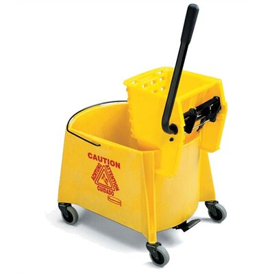 Rubbermaid Commercial Products Foot Activated Combo Bucket with Wringer