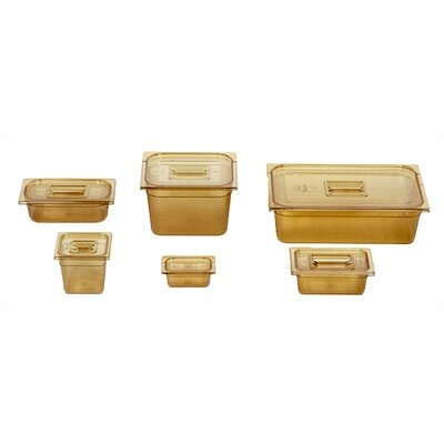 "Rubbermaid Commercial Products 2 Space Wide Cold Food Pan (8"" depth)"