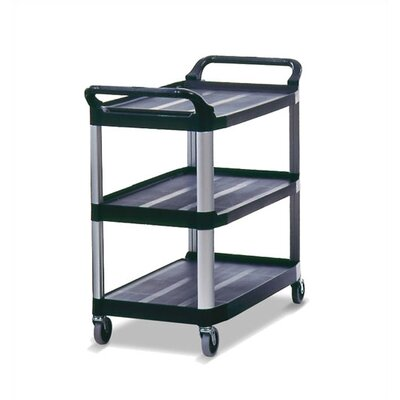 Rubbermaid Commercial Products X-Tra Food Servicer & Utility Cart (Gray)