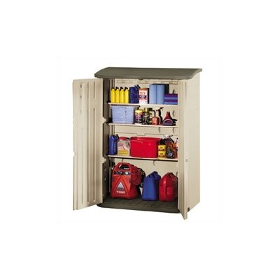 Rubbermaid Commercial Products Large Vertical Outdoor Storage Shed