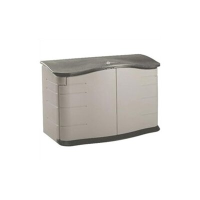 Rubbermaid Commercial Products Home Horizontal Outdoor Storage Shed