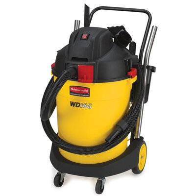 Rubbermaid Commercial Products 16-Gallon Wet / Dry Vacuum