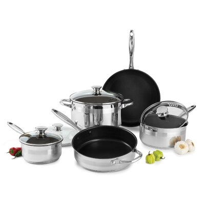 Wolfgang Puck® Nonstick 9 Piece Cookware Set