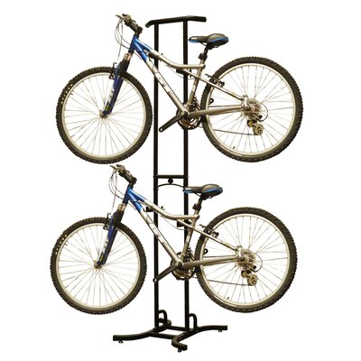 Stoneman Sports Sparehand Double Bike Rack-820 in Black
