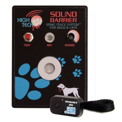 High Tech Pet Sound Barrier Indoor Sonic Pet Electric Fence