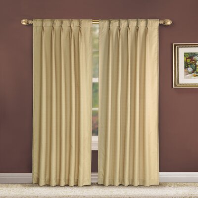 Victoria Classics Manchester  Grommet Curtain Single Panel