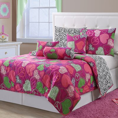 Ashley 6 Piece Twin Quilt Set
