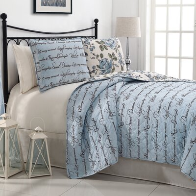 Bella 3 Piece Quilt Set