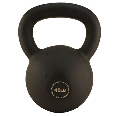 Muscle Driver USA 45 lb Black Series Kettlebell