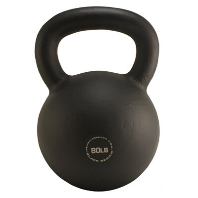 Muscle Driver USA 80 lb Black Series Kettlebell