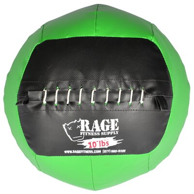 Muscle Driver USA 10 lb Rage Ball in Green