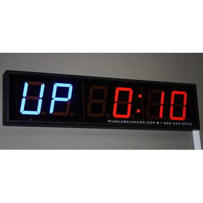 "Muscle Driver USA ""No Limits"" Programmable Interval Wall Timer"