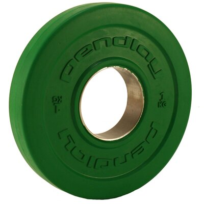 Muscle Driver USA Pendlay 1kg Rule Rubber Change Plate (Pair)
