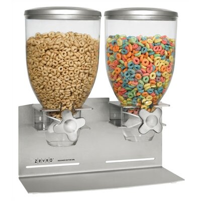 Zevro Stainless Steel Double Dispenser