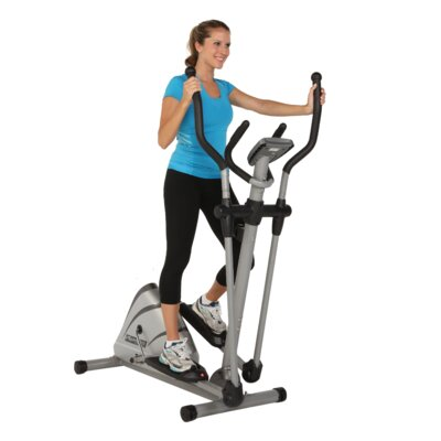 Exerpeutic Fitness 1000XL Heavy Duty Magnetic Elliptical with Pulse