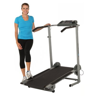 Exerpeutic Fitness 100XL Heavy Duty Magnetic Manual Treadmill