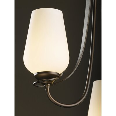Hubbardton Forge Flora 3 Light Vertical Chandelier
