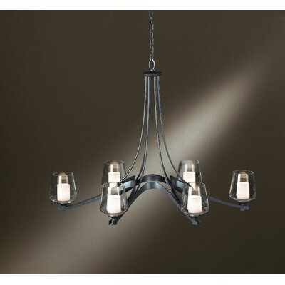 Ribbon 6 Light Chandelier