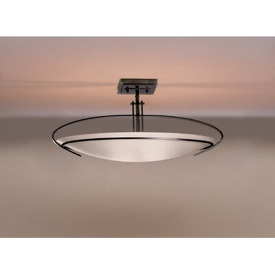 Hubbardton Forge Mackintosh Oval 2 Light Semi Flush Mount