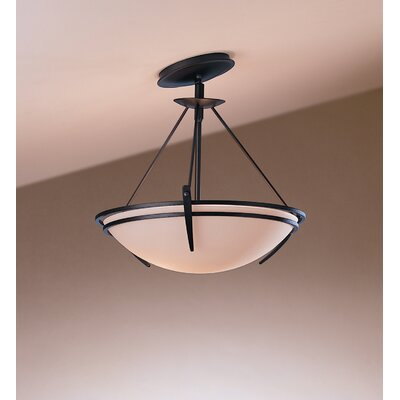 Hubbardton Forge Presidio Tryne 2 Light Semi Flush Mount