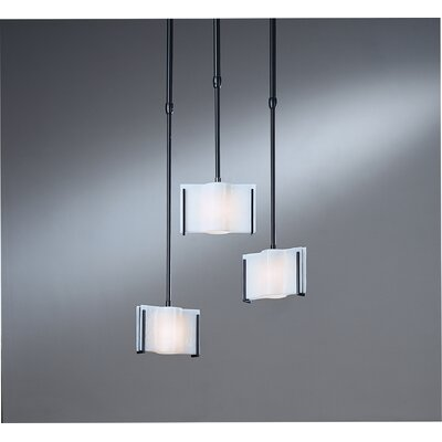 Hubbardton Forge Exos Wave Small 1 Light Drum Pendant