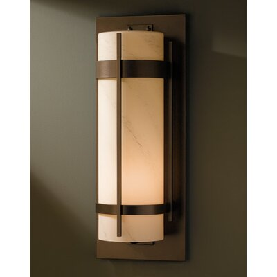 Hubbardton Forge Banded 1 Light Outdoor Wall Sconce