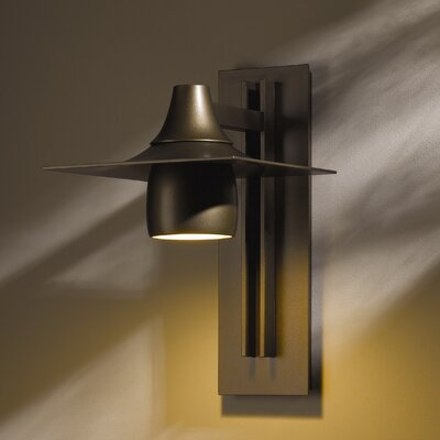 Hubbardton Forge Hood Dark Sky 1 Light Outdoor Sconce