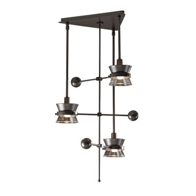 Hubbardton Forge Apparatus 3 Light Pendant