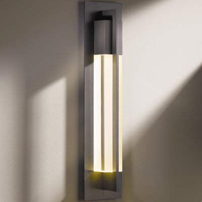Hubbardton Forge Axis Large 1 Light Outdoor Sconce