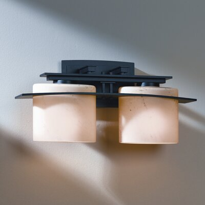 Hubbardton Forge Ellipse 2 Light Wall Sconce