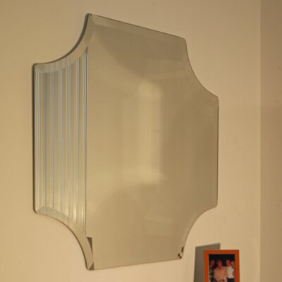 Regency Scallop Frameless Mirror
