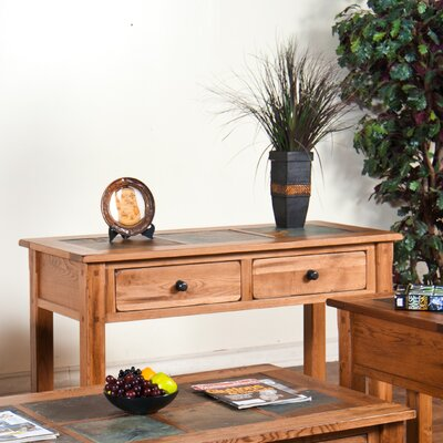 Sedona Console Table with Slate Top