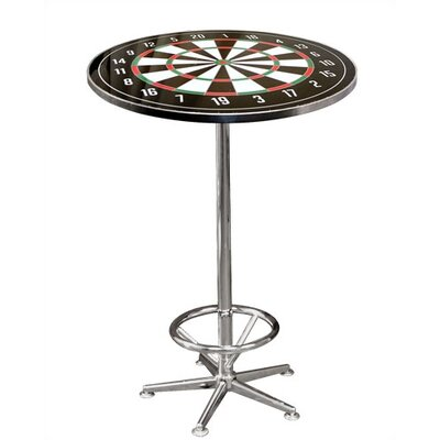 On The Edge Marketing Dart Board Pub Table with Optional Stools